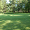 A view of a green at Evergreen Golf Centre