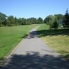 A view of the 1st tee at Gananoque Golf and Country Club.