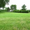 A view of a green at Juniper Fairways Golf Club.