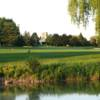 A view of a fairway at York Downs Golf and Country Club.