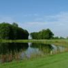 A view over the water from Royal Stouffville Golf Course.