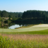 View of the 18th green from the North Course TPC Toronto at Osprey Valley