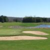 View of the 9th hole from the Blue course at Irish Hills Golf and Country Club