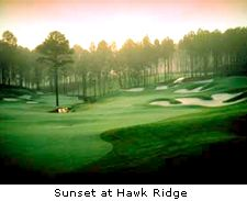 Sunset at Hawk Ridge