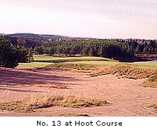 No. 13 at Hoot course