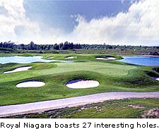Royal Niagara boasts 27 interesting holes