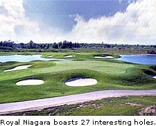 Royal Niagara boasts 27 interesting holes