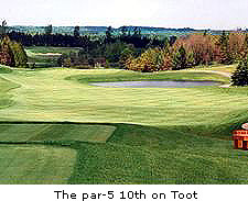 The par-5 10th on Toot