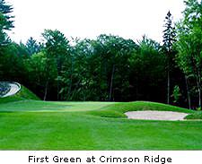 First Green at Crimson Ridge