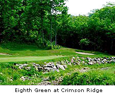 Eigth Green at Crimson Ridge